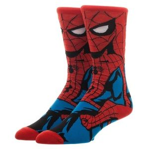 Spider-Man 360 Men's Crew Socks MARVEL COMICS
